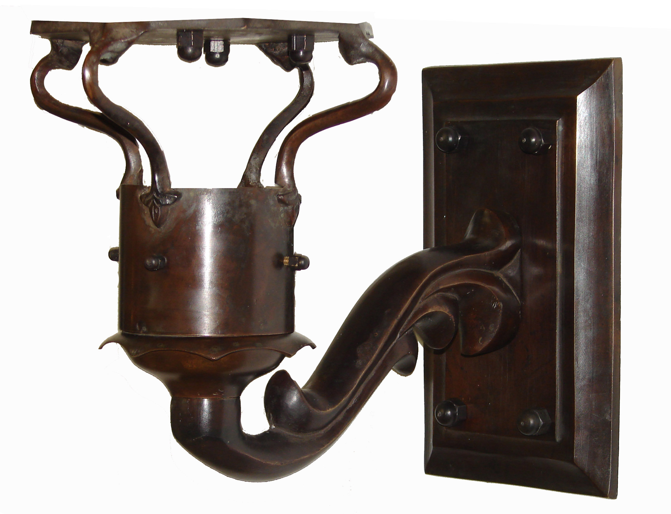 Antique Wall Mount Gas Lamp : Windsor Antique Bronze (Wall Mount) Gas Light Pro - French Quarter Lanterns