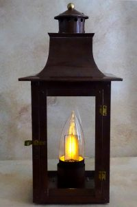 Flame Bulb Gas Light Pro French Quarter Lanterns